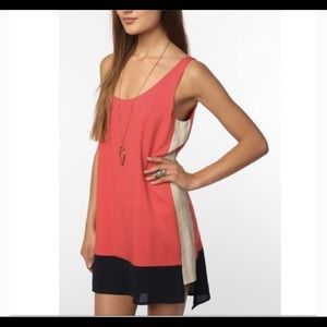 Sparkle & Fade colorblock dress size small